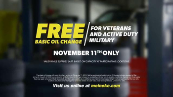 Meineke Car Care Centers TV Spot, 'Veterans Day: Thank You' - Thumbnail 7