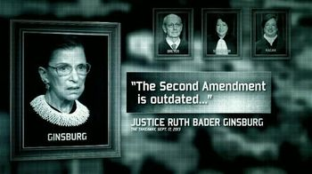 National Rifle Association TV Spot, 'Four Justices' - 1 commercial airings