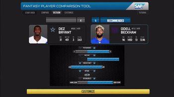 SAP Player Comparison Tool TV Spot, 'So Far This Season' - 2 commercial airings