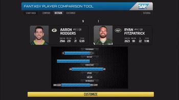 SAP Player Comparison Tool TV Spot, 'So Far This Season' - Thumbnail 2