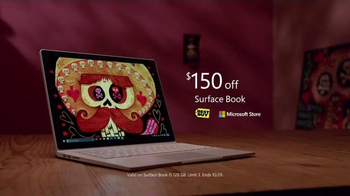 Microsoft Surface Book TV Spot, 'The Book of Life' - Thumbnail 10
