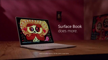 Microsoft Surface Book TV Spot, 'The Book of Life' - Thumbnail 8