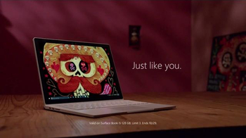 Microsoft Surface Book TV Spot, 'The Book of Life' - Thumbnail 9