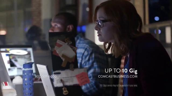 Comcast Business TV Spot, 'Speed Always Wins' - Thumbnail 7