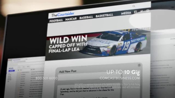 Comcast Business TV Spot, 'Speed Always Wins' - Thumbnail 9