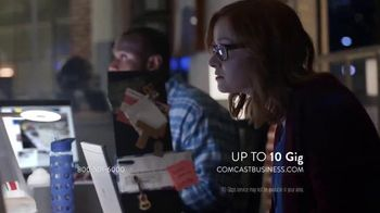 Comcast Business TV Spot, 'Speed Always Wins'