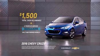 Chevrolet TV Spot, 'Awards: Cruze' - Thumbnail 8