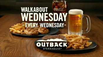 Outback Steakhouse Walkabout Wednesdays TV Spot, 'Run to Outback' - Thumbnail 9