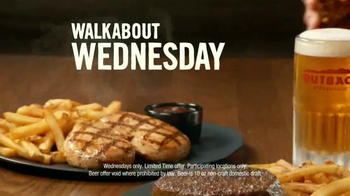 Outback Steakhouse Walkabout Wednesdays TV Spot, 'Run to Outback' - Thumbnail 6