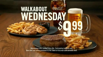 Outback Steakhouse Walkabout Wednesdays TV Spot, 'Run to Outback' - Thumbnail 7