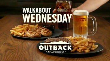 Outback Steakhouse Walkabout Wednesdays TV Spot, 'Run to Outback' - Thumbnail 8