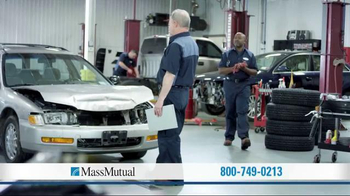 MassMutual Guaranteed Acceptance Life Insurance TV Spot, 'Collision' - Thumbnail 1