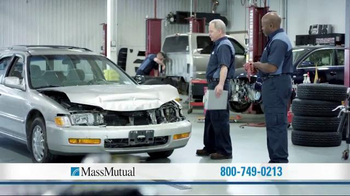 MassMutual Guaranteed Acceptance Life Insurance TV Spot, 'Collision'