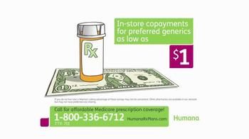 Humana Walmart Prescription Drug Plan TV Spot, 'Low Premiums'