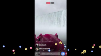 Facebook Live TV Spot, 'Waterfall' - Thumbnail 8