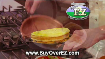 Gotham Steel Over EZ Omelette Pan TV Spot, 'Slides Right Out' - Thumbnail 2