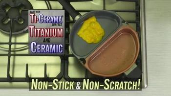 Gotham Steel Over EZ Omelette Pan TV Spot, 'Slides Right Out' - Thumbnail 3