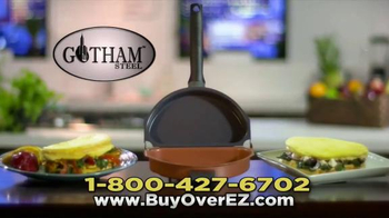 Gotham Steel Over EZ Omelette Pan TV Spot, 'Slides Right Out' - Thumbnail 7
