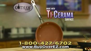 Gotham Steel Over EZ Omelette Pan TV Spot, 'Slides Right Out' - Thumbnail 9
