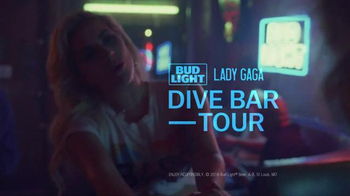 Bud Light TV Spot, 'Bud Light + Lady Gaga Dive Bar Tour: Joanne' - Thumbnail 5