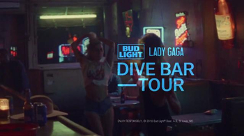 Bud Light TV Spot, 'Bud Light + Lady Gaga Dive Bar Tour: Joanne' - Thumbnail 6