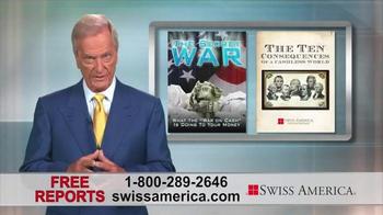 Swiss America TV Spot, 'War on Cash' Featuring Pat Boone - Thumbnail 5