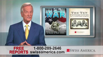 Swiss America TV Spot, 'War on Cash' Featuring Pat Boone - Thumbnail 2