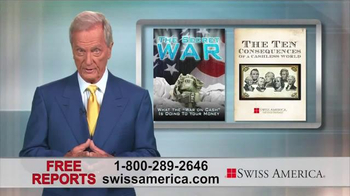 Swiss America TV Spot, 'War on Cash' Featuring Pat Boone - Thumbnail 3