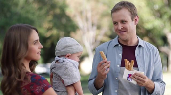 Taco Bell Rolled Chicken Tacos TV Spot, 'Baby' - 5287 commercial airings