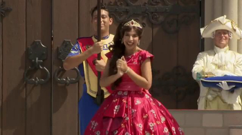 Walt Disney World TV Spot, 'Elena of Avalor Royal Welcome' - 133 commercial airings