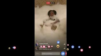 Facebook Live TV Spot, 'Bubbles' - Thumbnail 4