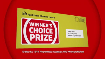 Publishers Clearing House Winner's Choice Prize TV Spot, 'Your Choice' - Thumbnail 8
