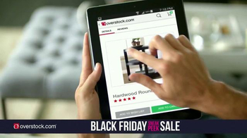 Overstock.com Black Friday Sneak Peek Sale TV Spot, 'Holiday Needs' - Thumbnail 4