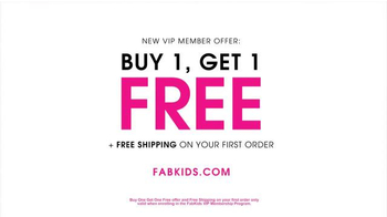 FabKids.com Buy 1, Get 1 Free TV Spot, 'A New Fashion Brand for Kids' - Thumbnail 7