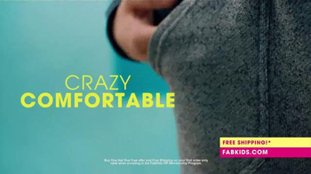 FabKids.com Buy 1, Get 1 Free TV Spot, 'A New Fashion Brand for Kids' - Thumbnail 2