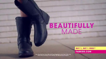 FabKids.com Buy 1, Get 1 Free TV Spot, 'A New Fashion Brand for Kids' - Thumbnail 3
