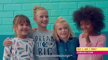 FabKids.com Buy 1, Get 1 Free TV Spot, 'A New Fashion Brand for Kids' - Thumbnail 6