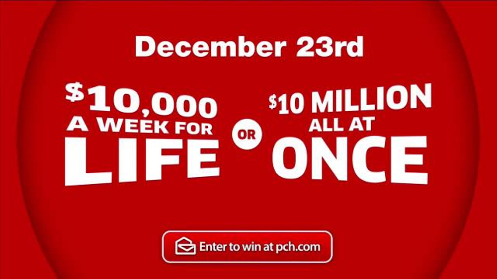 Publishers Clearing House TV Commercial, 'Winner's Choice: December 2016' -  Video