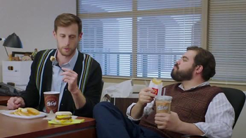McDonald's Sausage McGriddles TV Spot, 'New Office' - 12 commercial airings