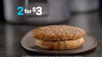 McDonald's Sausage McGriddles TV Spot, 'New Office' - Thumbnail 6