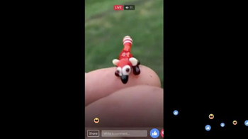 Facebook Live TV Spot, 'Miniature Animals' - Thumbnail 3