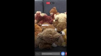 Facebook Live TV Spot, 'Teddy Bear' - Thumbnail 4