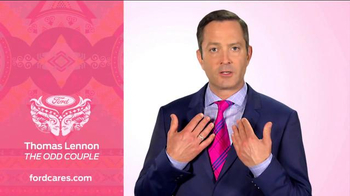 Ford Warriors in Pink TV Spot, 'Not Just Any Tie' Featuring Thomas Lennon - 3 commercial airings