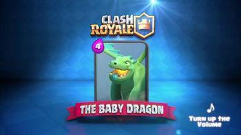 Clash Royale TV Spot, 'Baby Dragon Raps'