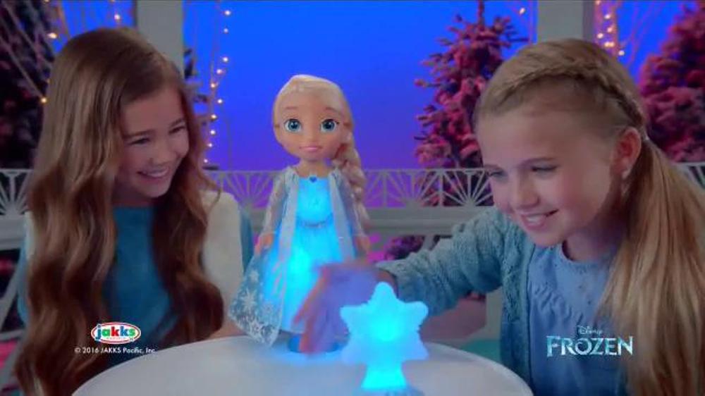 Disney Frozen Northern Lights Feature Elsa Tv Commercial