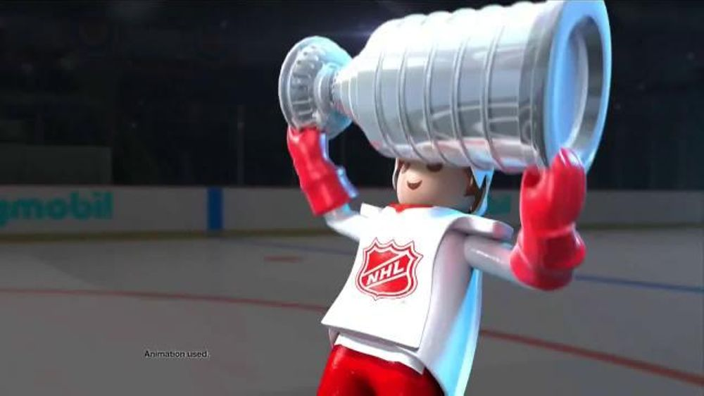 Playmobil NHL TV Commercial, 'NHL Action'
