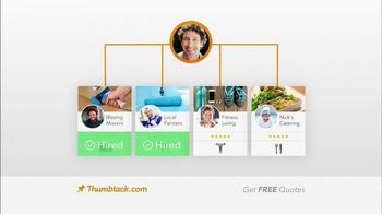 Thumbtack TV Spot, 'Pick a Pro' - Thumbnail 4