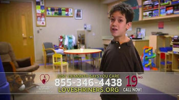 Shriners Hospitals for Children TV Spot, 'Your Call Says You Care' - Thumbnail 1