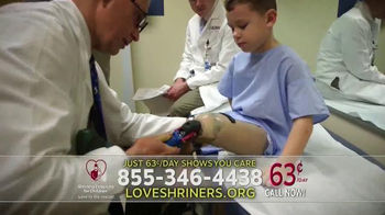 Shriners Hospitals for Children TV Spot, 'Your Call Says You Care' - Thumbnail 2