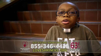 Shriners Hospitals for Children TV Spot, 'Your Call Says You Care' - Thumbnail 3